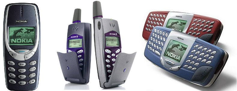 The ancestors of modern day handsets