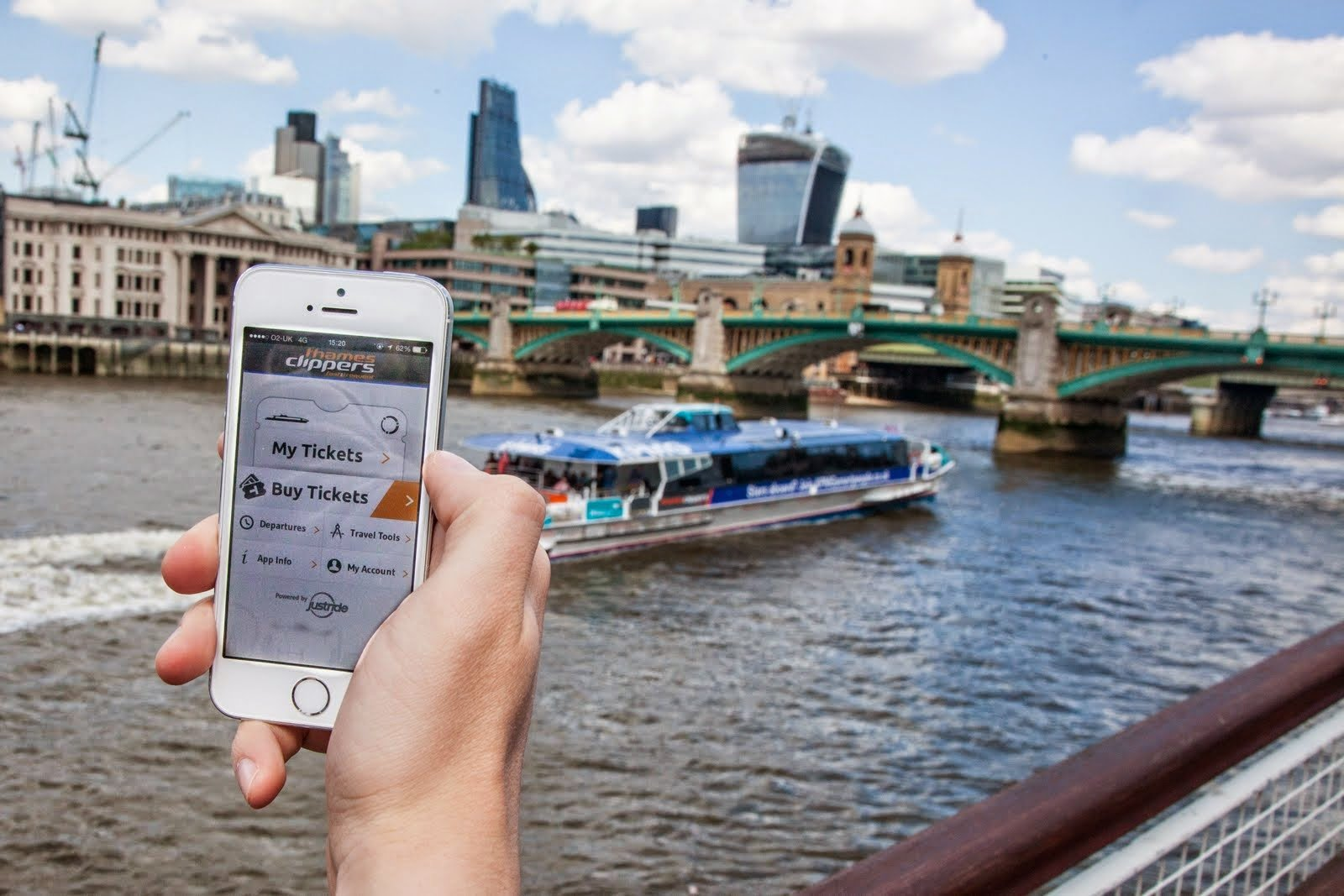 Thames Clippers Mobile Ticket App
