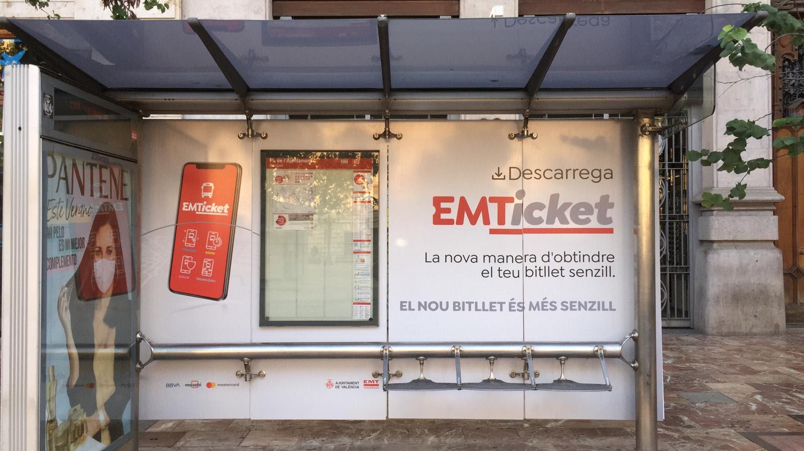 EMT Ticket - bus stop 1
