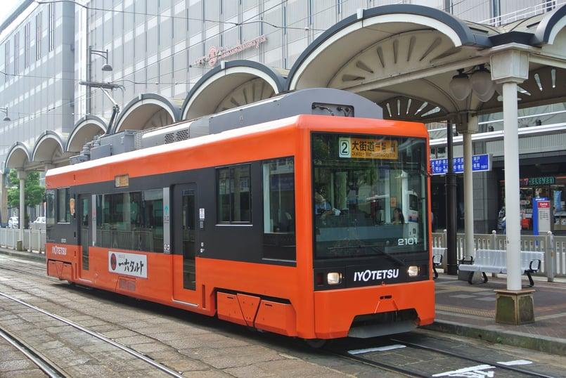 Masabi Jorudan Iyotestu tram