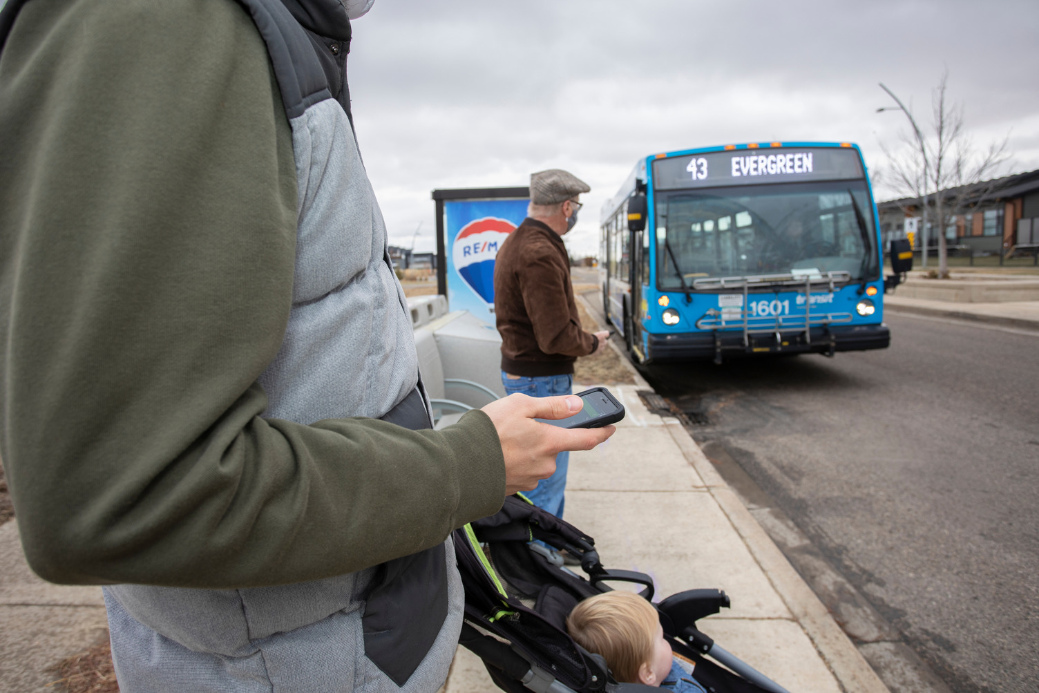 Saskatoon Transit buses